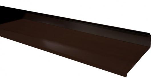 solin 22 6 cm brun fonc pour toiture. Black Bedroom Furniture Sets. Home Design Ideas