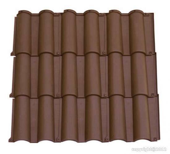 kit sur mesure toiture romane marron. Black Bedroom Furniture Sets. Home Design Ideas