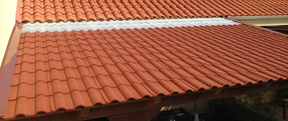 couleur tuile terre cuite latest toit en tuiles plaque plastique couleur terre cuite de x cm s. Black Bedroom Furniture Sets. Home Design Ideas